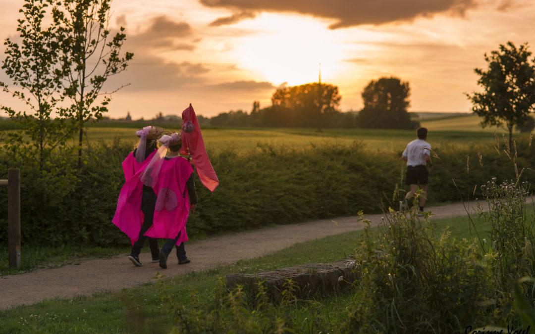 Les foulées roses 2018 du Kochersberg Ackerland