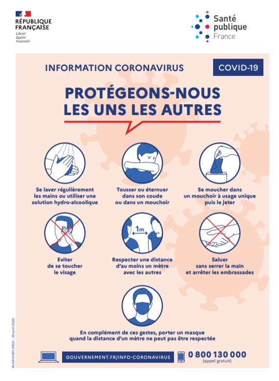 recommandations sanitaires